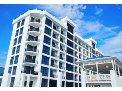 Paradise Beach Hotel Абхазия | Территория отеля и внешний вид