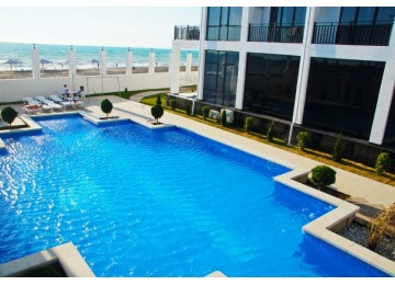 Открытый Бассейн | Отель «Paradise Beach» Абхазия