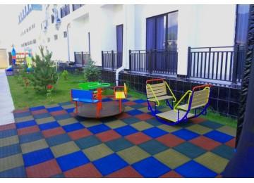 Детская площадка в отеле Парадиз Бич Абхазия